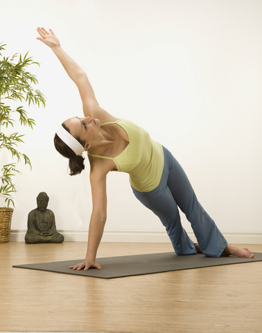 Pose of the week: side plank